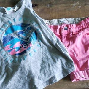 Roxy Teenie Wahine Roxy Girl Set